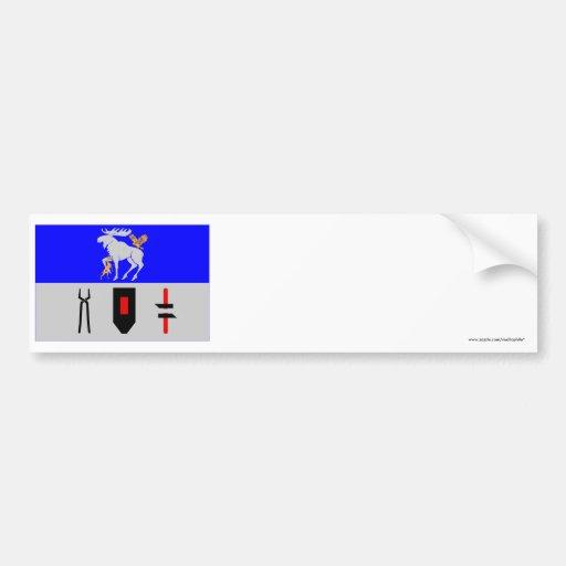 Jämtlands länflagga bildekal