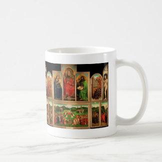 Jan skåpbil Eyck- Ghent Altarpiece Kaffemugg