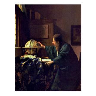 Jan Vermeer, astronomvykortet Vykort
