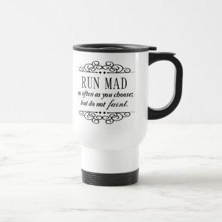 Jane Austen: Den tokiga springan reser kaffe- Resemugg