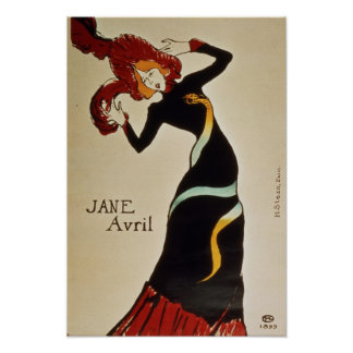 Jane Avril 1899 Posters