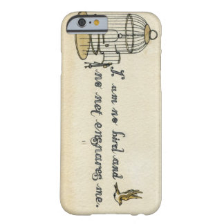 Jane Eyre citationsteckenfodral Barely There iPhone 6 Skal