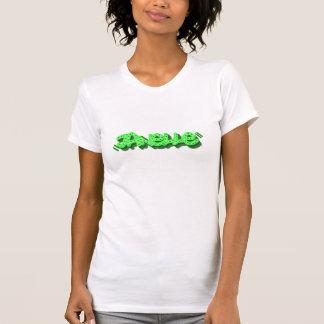 Janelle grafittiT-tröja, vitmedel T-shirt
