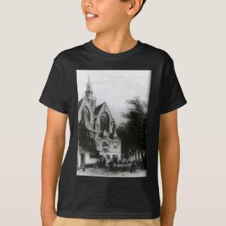 Janskerk (Gouda) vid den Cornelis springeren T-shirt