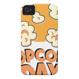 Januari 19th - Popcorndag - gillandedag iPhone 4 Case-Mate Skydd