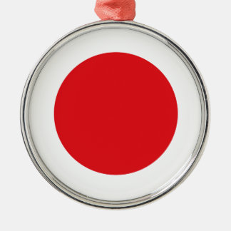 Japan flagga julgransprydnad metall