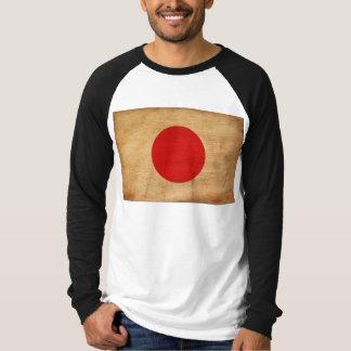 Japan flagga t-shirt