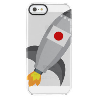 Japan flaggaraket clear iPhone SE/5/5s skal