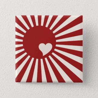 Japan hjärta standard kanpp fyrkantig 5.1 cm