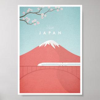 Japan vintage resoraffisch poster