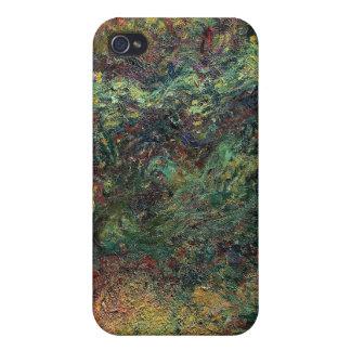 Japanen överbryggar - Claude Monet iPhone 4 Fodral