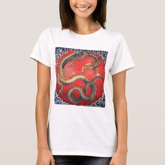 Japansk drake t-shirt
