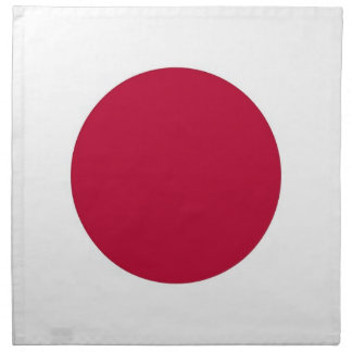 Japansk flagga på den MoJo servetten Servett
