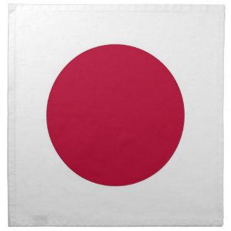 Japansk flagga på den MoJo servetten Tygservett
