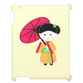 Japansk Geishaflicka iPad Fodral