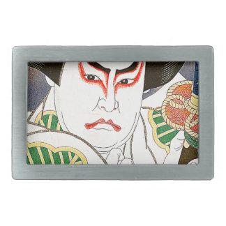 Japansk Kabuki skådespelarekonst vid Natori