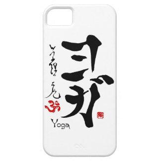 Japansk kinesisk Calligraphy för KanjisymbolYOGA iPhone 5 Cases