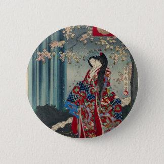 Japansk klassiker för coola för konst för standard knapp rund 5.7 cm