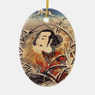 Japansk konstprydnad - Kuniyoshi Julgransdekorationer