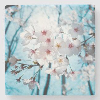 Japansk körsbärsröd blommarZen Stenunderlägg