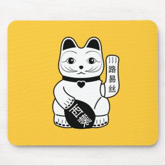 Japansk lycklig kattPictogram Mousepad Musmatta