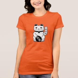 Japansk lycklig kattPictogramT-tröja T-shirt