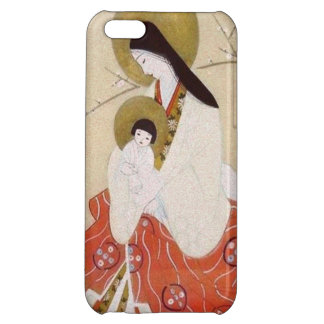 Japansk Madonna och barnvintage iPhone 5C Mobil Skydd