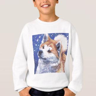 Japansk målning för Akita konsthund T-shirt