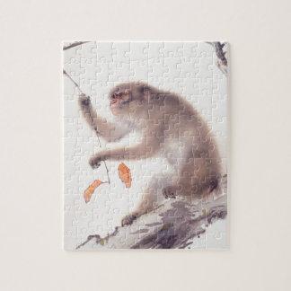 Japansk målning för apa - år av apan 2016 pussel