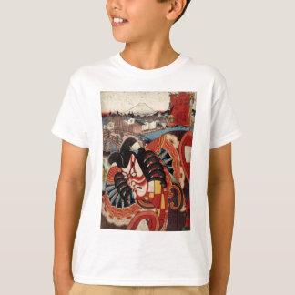 Japansk målning för vintage - Kabuki skådespelare T Shirts