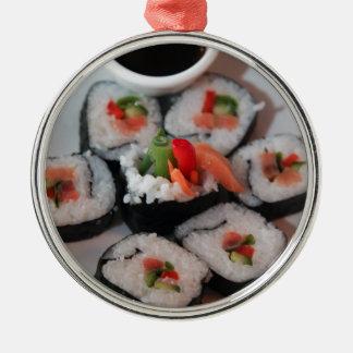 Japansk restaurangsås för Sushi Julgransprydnad Metall