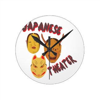 Japansk teater rund klocka
