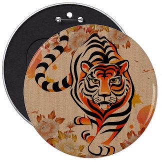japansk tigerkonst jumbo knapp rund 15.2 cm
