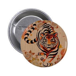 japansk tigerkonst standard knapp rund 5.7 cm