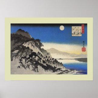 Japansk träkloss poster