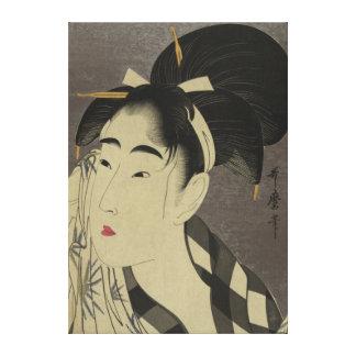 Japansk vintage bild - pre 1900skanfas