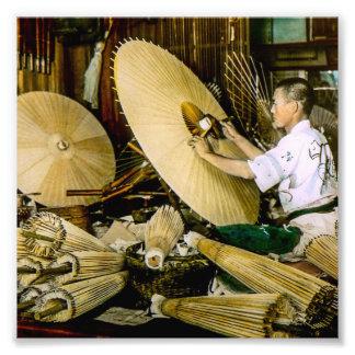 Japansk vintage Japan för Fototryck