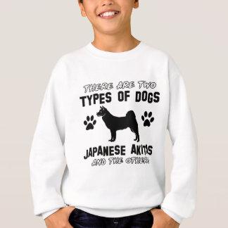 japanska akita hund design t-shirt