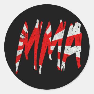 Japanskt Muttahida Majlis-E-Amal för Runt Klistermärke