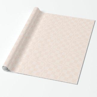 Japanskt tryck för kräm och för vit presentpapper