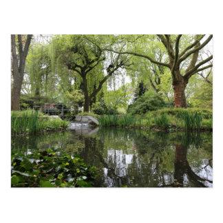 Japanträdgård i Leverkusen Vykort