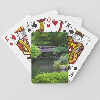 Japanträdgård, Portland, Oregon, USA 2 Casinokort