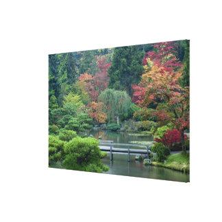 Japanträdgården på Washington parkerar Canvastryck