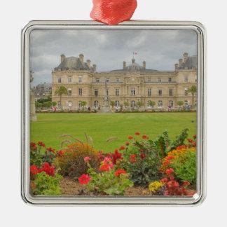 Jardin du Luxembourg Silverfärgad Fyrkantigt Julgransprydnad