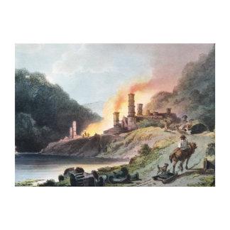 Järnarbeten, Coalbrookdale Canvastryck