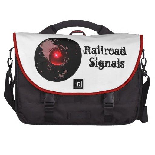 Järnväg signalerar data väskor