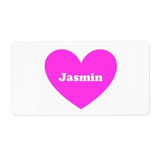 Jasmin Fraktsedel