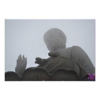 Jätte- Buddha Fototryck