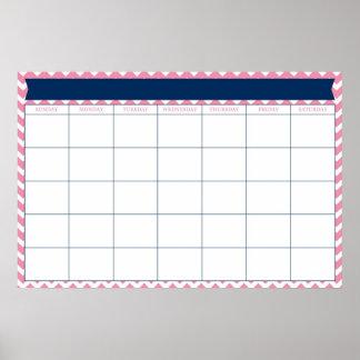 Jätte- kalender print