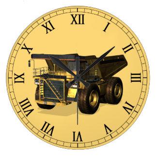 Jätte- lastbil stor klocka
